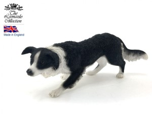 Figurka - pies Border Collie Black&White
