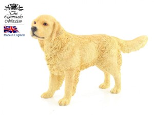 Figurka - pies Golden Retriever