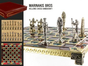 Szachy - Egyptian Chess Set