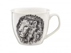Kubek porcelanowy Lion Wild 550 ml AMBITION