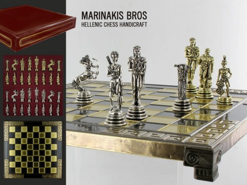 Szachy - Warrior Chess Set